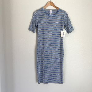 XS LuLaRoe Julia Tee Shirt Dress